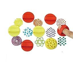 Beautiful Kids Toy Art Hollow Pattern Stamper