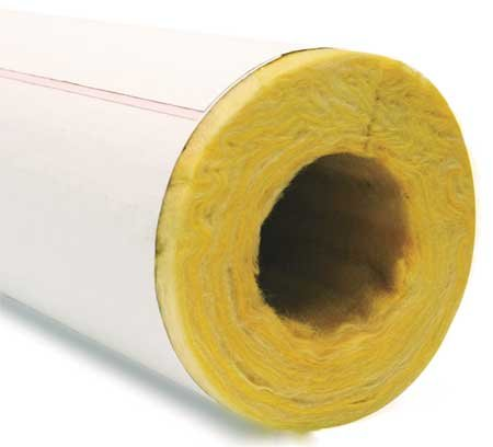 2-29/32'' x 3 ft. Fiberglass Pipe Insulation, 1'' Wall by Owens Corning