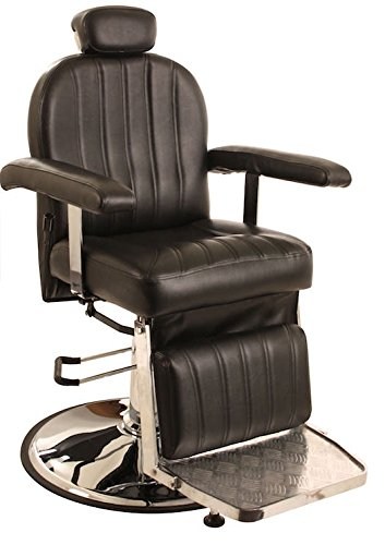All Purpose Hydraulic Reclining ''Chester'' Barber Chair by CCI Beauty - Salon Beauty Spa Shampoo Equipment Furniture by CCI Beauty