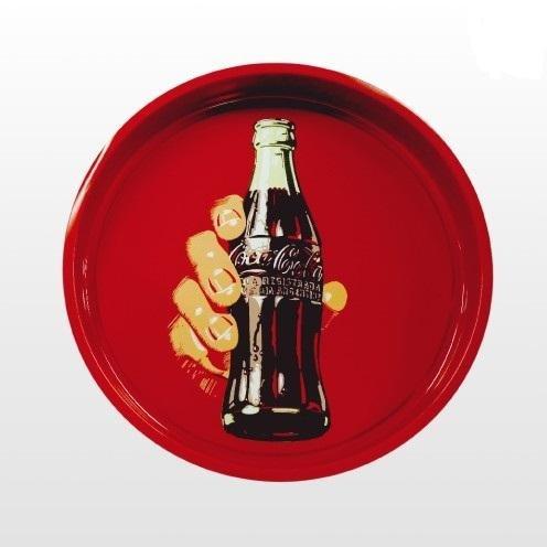 Bandeja Coca-cola 33 cm Redonda