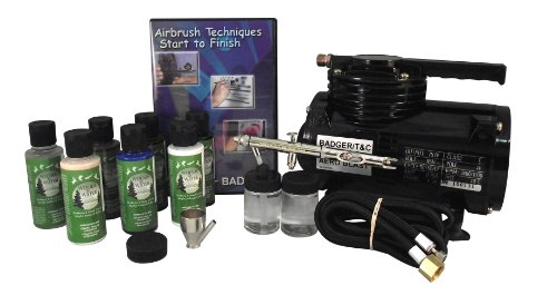 Badger Air-Brush Co. 314-TSWC Taxidermy Starter/Basic System with Compressor