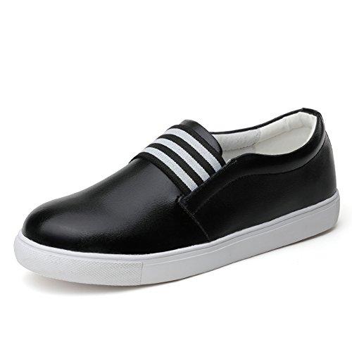 Primavera Zapatos De Cuero Blanco,Las Mujeres Aman Los Zapatos,Manoletinas,Zapatos Ocasionales Del Estudiante Blanco,Los Zapatos De Las Mujeres B