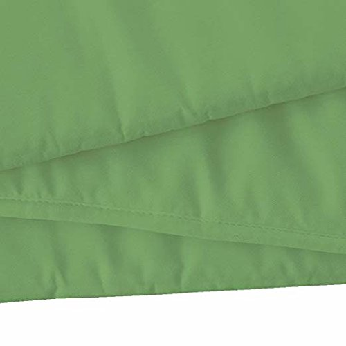 Baby Breathable Mesh Crib Liner 14''Sage,1 Pack Fits 4 Sided Slatted & Solid Back Cribs by Shreem Linen (Image #5)