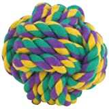 Multipet Nuts for Knots Ball Medium Dog Toy