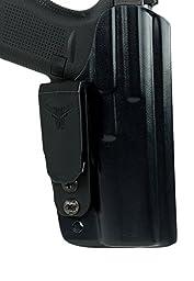 Blade Tech Industries Inside the Waistband Klipt Appendix Fits Glock 42 Holster, Black