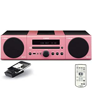 Yamaha mcr 140pi micro component system pink for Yamaha home stereo systems