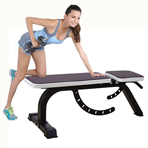 Adjustable Weight Bench,1000 lb Capacity,7 Back Pad Positions with Flat/Incline and 4 Positions Adjustable Seat
