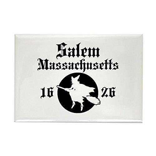 (CafePress Salem Massachusetts Rectangle Magnet Rectangle Magnet, 2