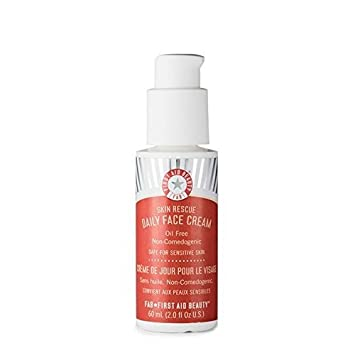 First Aid Beauty Daily Face Cream Light Weight Oil Free 60ml New [Pack Of 3] Night Cream Powerful Neem - 3 fl. oz. by Alaffia (pack of 2)