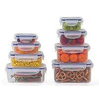 Popit Little Big Box Food Plastic Container Set