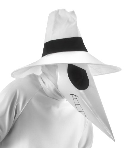 [elope Mad Spy vs. Spy Accessory Kit, White, One Size] (Spy Costume Accessories)