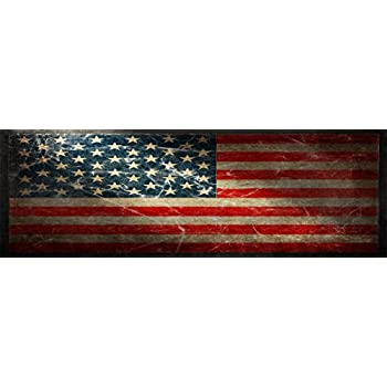 Amazon Com Vuscapes American Flag Rear Window Truck