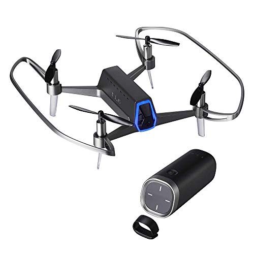 Shift RED, Drone with Patented one-Handed Controller, Hovering Quadcopter with FHD Camera for Kids and Adults, 4 Level Speed Modes, Seamless SNS Video Management, Follow me, Altitude Hold