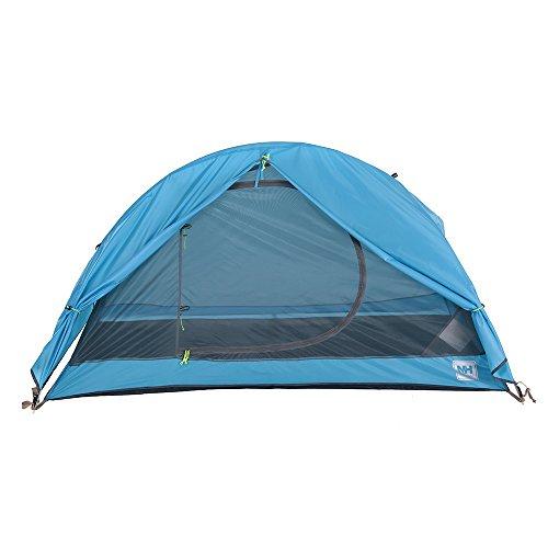 Docooler 3 Person Camping Tent Double Layer 1 Single Season Aluminum Rod Outdoor Aluminum Poles Tent