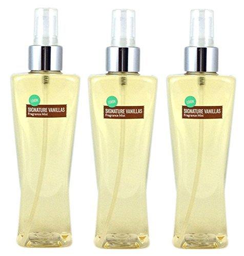 Bath & Body Works Lemon Vanilla Fragrance Mist Set of 3 Full Size