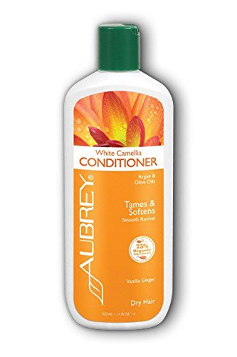 Aubrey Organics - White Camellia Conditioner, 11 fl oz Aubrey White Conditioner