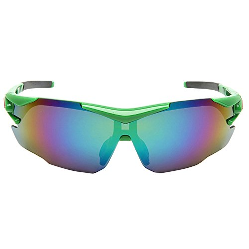 KXN Cool Polarized Cycling Outdoor Sports Sunglasses Set for Men Women Cycling Running Driving Fishing Golf Baseball Glasses - Cycling Cool Sunglasses