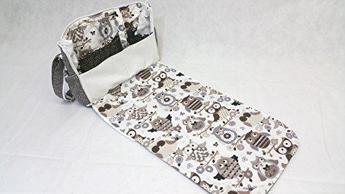 """Atelier miamia bolso cambiador """"All In One Bolsa para pañales hombro bolso para viajes Edición Limitada."""