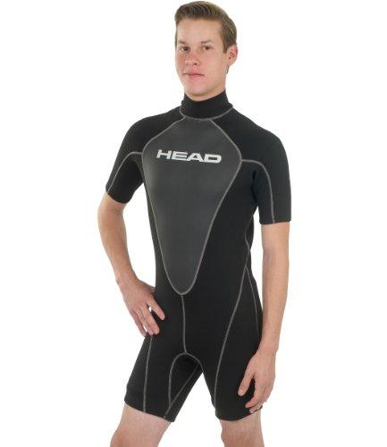 Head 2.5mm Wave Shorty Scuba Snorlkeling Wetsuit Men's - LG ()