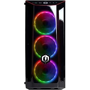 CyberpowerPC Wyvern Gaming PC – Intel Core i5-9400F, Nvidia GTX 1660 6GB, 16GB RAM, 240GB SSD, 1TB HDD, 400W 80+ PSU, Wifi, Windows 10, J24 RGB