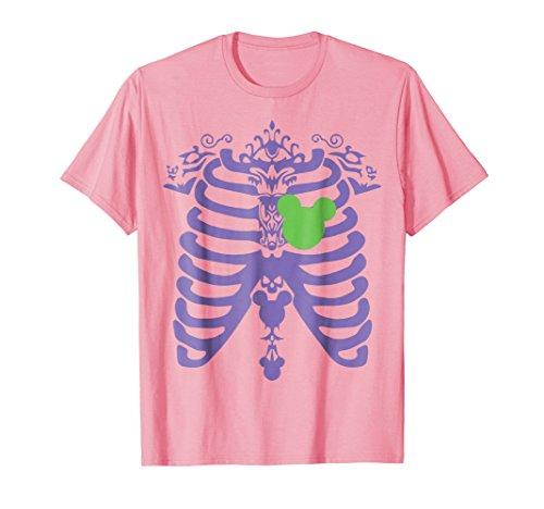 Mens Halloween costume 2018 for girl and women. Skeleton t-shirt. 2XL -