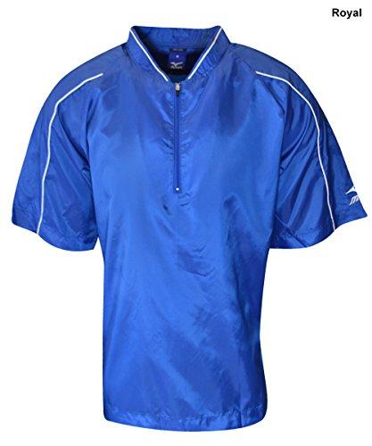 Mizuno Youth G4 Premier Short Sleeve Batting Jersey (Royal, (Premier Baseball Jersey)