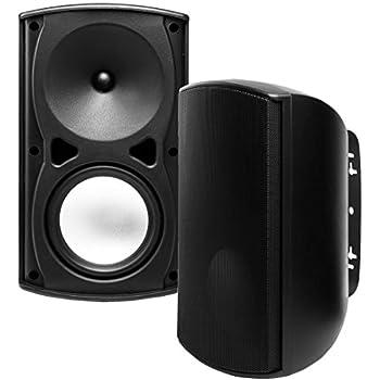 AP670 6.5-Inch 120W Architectural 2-Way Indoor/Outdoor Weather-Resistant Patio Speakers - OSD Audio - (Pair, Black)