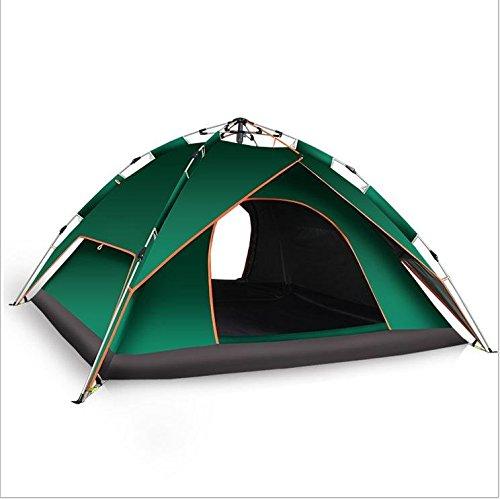 WZH Automatische außen 3-4 Doppel Twin Zelt Personen den kalte Wind Strand camping