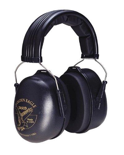 Tasco 2950 Golden Eagle Over-the-Head Earmuffs, NRR=29, Black