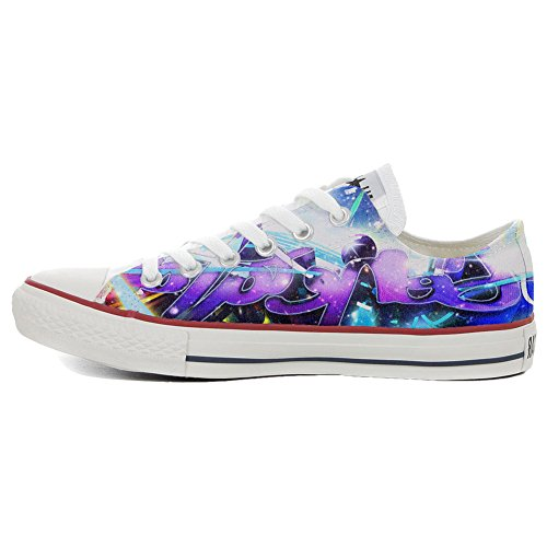 Converse All Star Zapatos Personalizados Unisex (Producto Artesano) Slim Pop Style