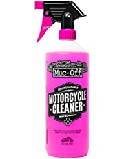Muc Off 664US Nano-Tech Motorcycle Cleaner, 1 Liter - Fast-Action, Biodegradable Motorbike Cleaning Spray - Safe On All Surfaces and All Types of Motorcycle Pink