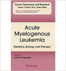 Acute Myelogenous Leukemia: Genetics, Biology and Therapy