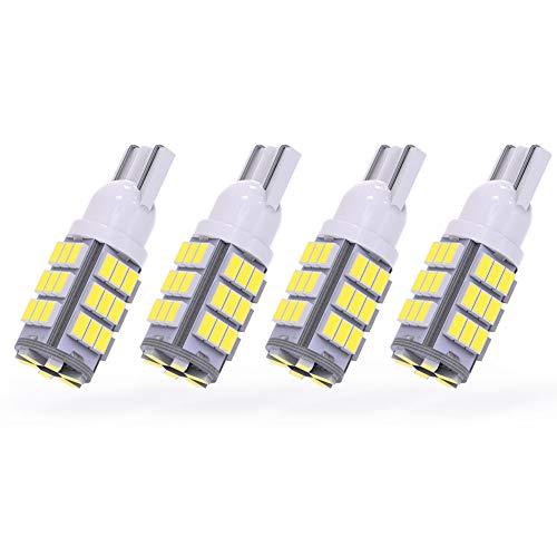 YITAMOTOR T10 42-SMD RV Trailer Car Backup Reverse White LED Light Bulb 194 912 906 168 192 Pack of 4 ()
