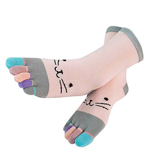Price comparison product image Patchwork Toe Sock, G-real Toddler Baby Kids Girls New Cute Baby Girls Five Finger Toe Socks