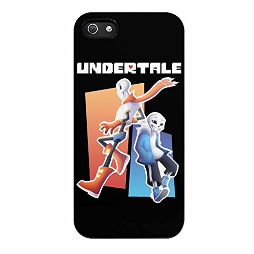 Vicky.Zheng Undertale Sans And Papyrus Case / Color Black Rubber / Device iPhone 7