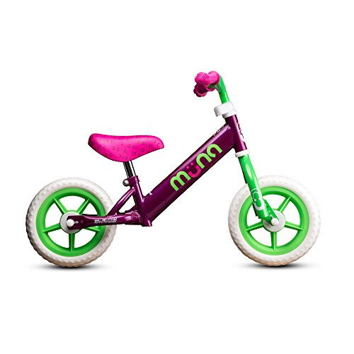 "Muna 10"" Balance Bike Raspberry"