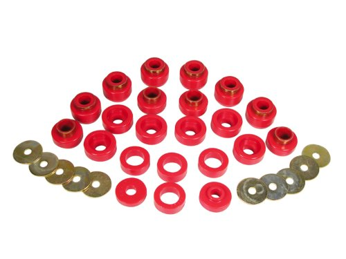 ody Mount Bushing Kit for CJ5, CJ7, CJ8, YJ and TJ - 22 Piece ()
