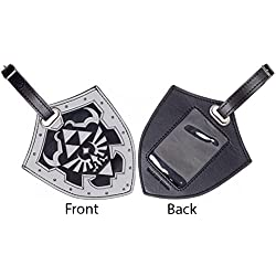 Nintendo Legend of Zelda Shield PU Travel Luggage Bag Tag