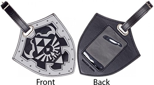 Nintendo Legend of Zelda Shield PU Travel Luggage Bag Tag