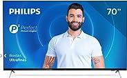 Smart TV Philips 70PUG7625 4K UHD, P5, HDR10+, Dolby Vision, Dolby Atmos, Bluetooth, WiFi, 3 HDMI, 2 USB - Pre
