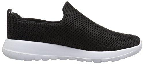 Skechers Mens Andare A Piedi Max Vasta Nero Sneaker / Bianco