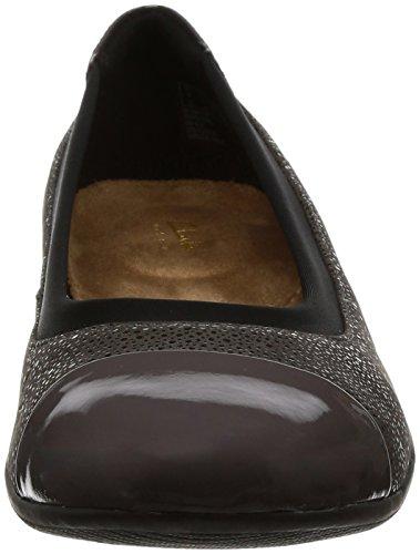 para Bailarina Mujer Clarks Garden Clarks Neenah Gris Color Marca para Dark Bailarina Modelo Gris Zapatos Zapatos Gris Mujer w1dEqvw