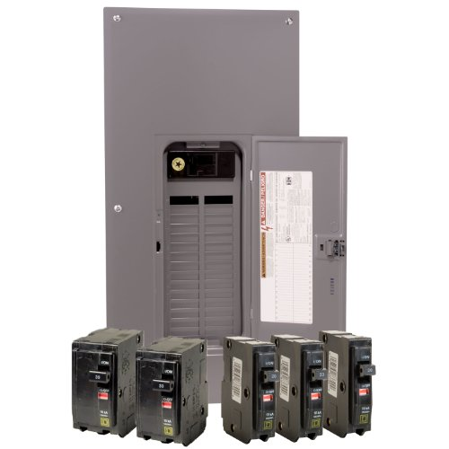 200 amp service amazon square d by schneider electric qo3040m200vp qo 200 amp 30 space 40 circuit indoor main breaker load center with cover value pack greentooth Image collections