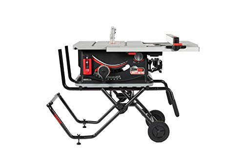 SawStop JSS-120A60 Jobsite Saw PRO with Mobile Cart Assembly – 15A,120V,60Hz
