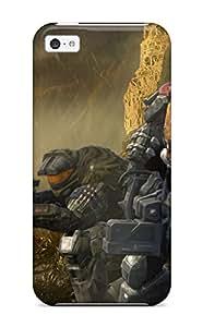 Hot PvSHGoA3153akSPc Case Cover Protector For Iphone 5c- Halo