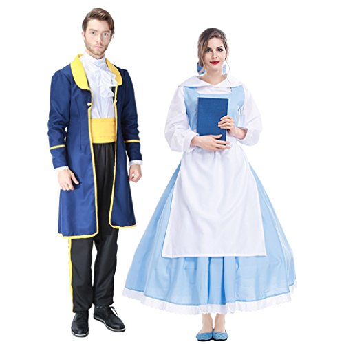 Adult Halloween Costumes Anime Princess & Prince Cosplay Dress Up by Costume Party Heart