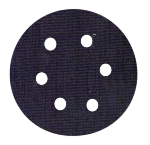 "Chicago Pneumatic 8940163457 6"" Hook & Loop Sanding Pad with 6 Holes"
