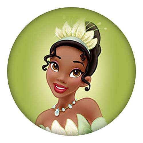 - Snap Jewelry Tiana The Princess and The Frog Painted Enamel 18-20mm Standard Size