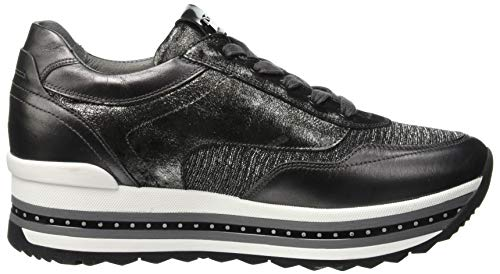 Flash Grigio Giardini Sneaker Infilare Piombo roro grey T Nero Donna 109 q58Bd8