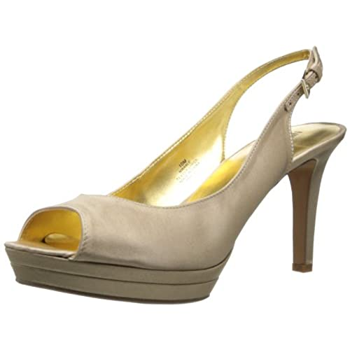 5858d9599233 durable modeling Nine West Women s Able Satin Platform Pump ...